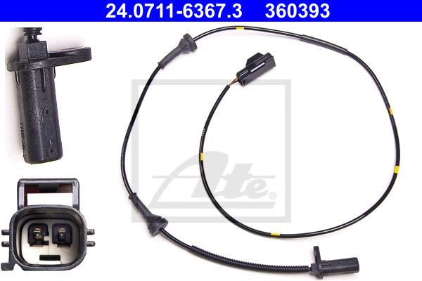 ABS-anturi ATE 24.0711-6367.3