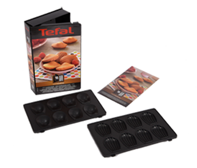 Tefal Snack Collect Box 15: Mini Madeleines Smörgåsgrill