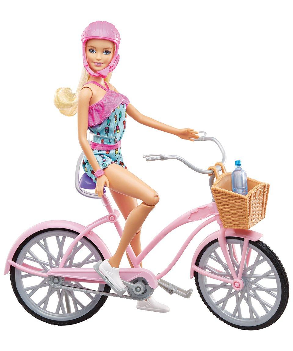 Barbie - Doll and Bike (FTV96)