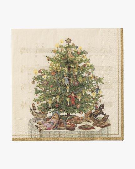 Paperiservetit, Nostalgisk Jul