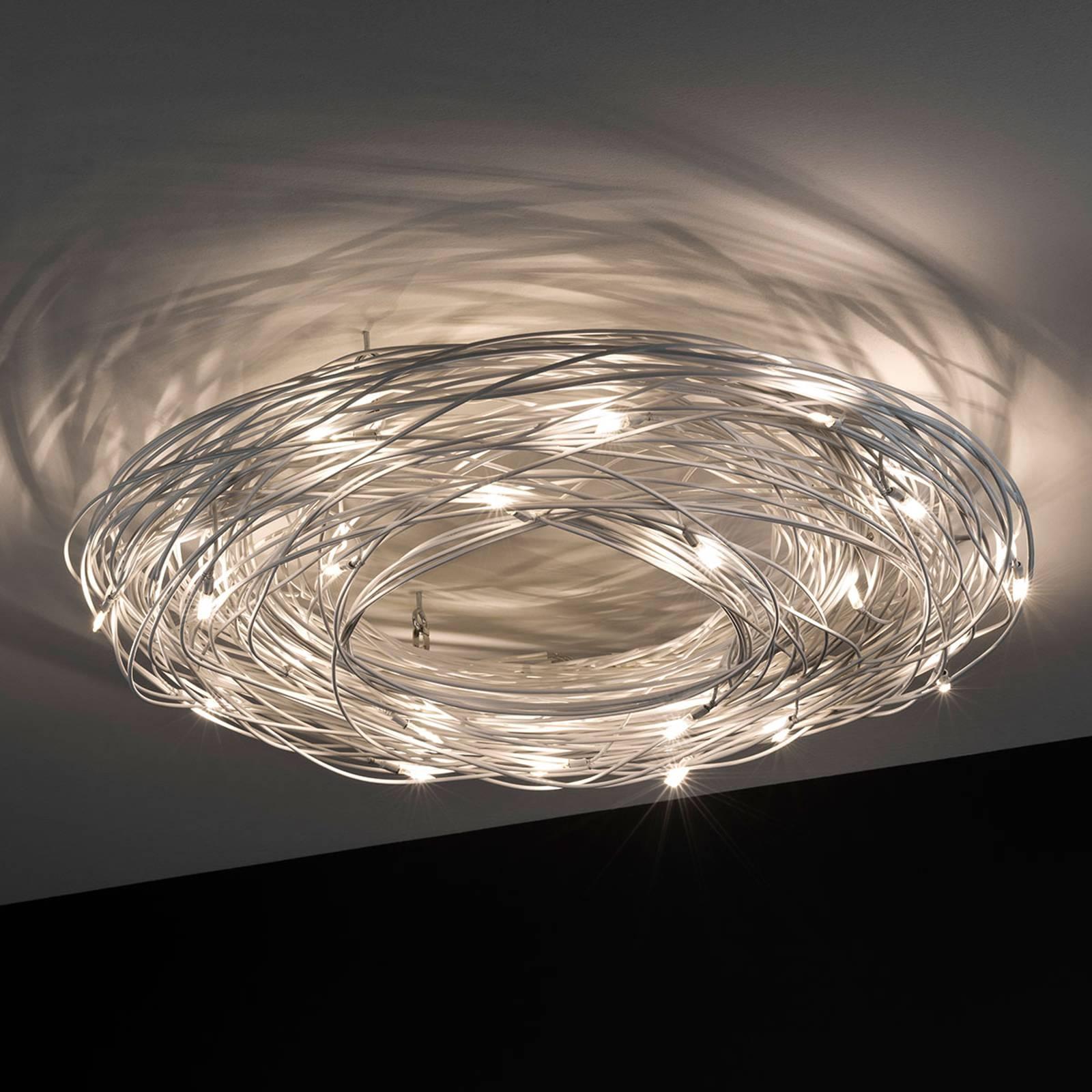 Knikerboker Confusione -LED-kattovalo, 20-lamp.