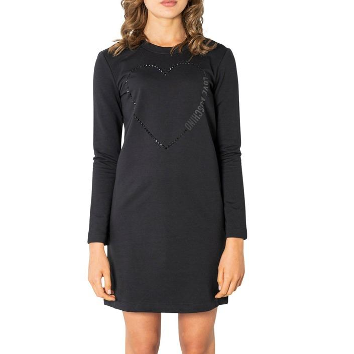 Love Moschino Women's Dress Black 320849 - black 40