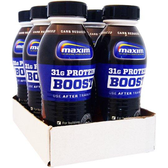 Hel Låda Proteindryck Choklad 6 x 310ml - 50% rabatt