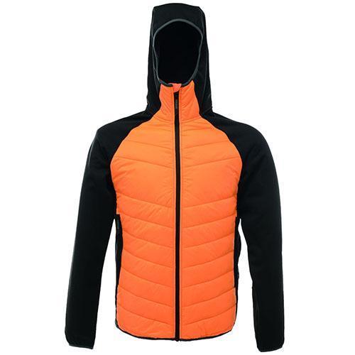 Regatta Men's Deerpark Jacket Various Colours TRA446 - Sunburst Orange/Black S