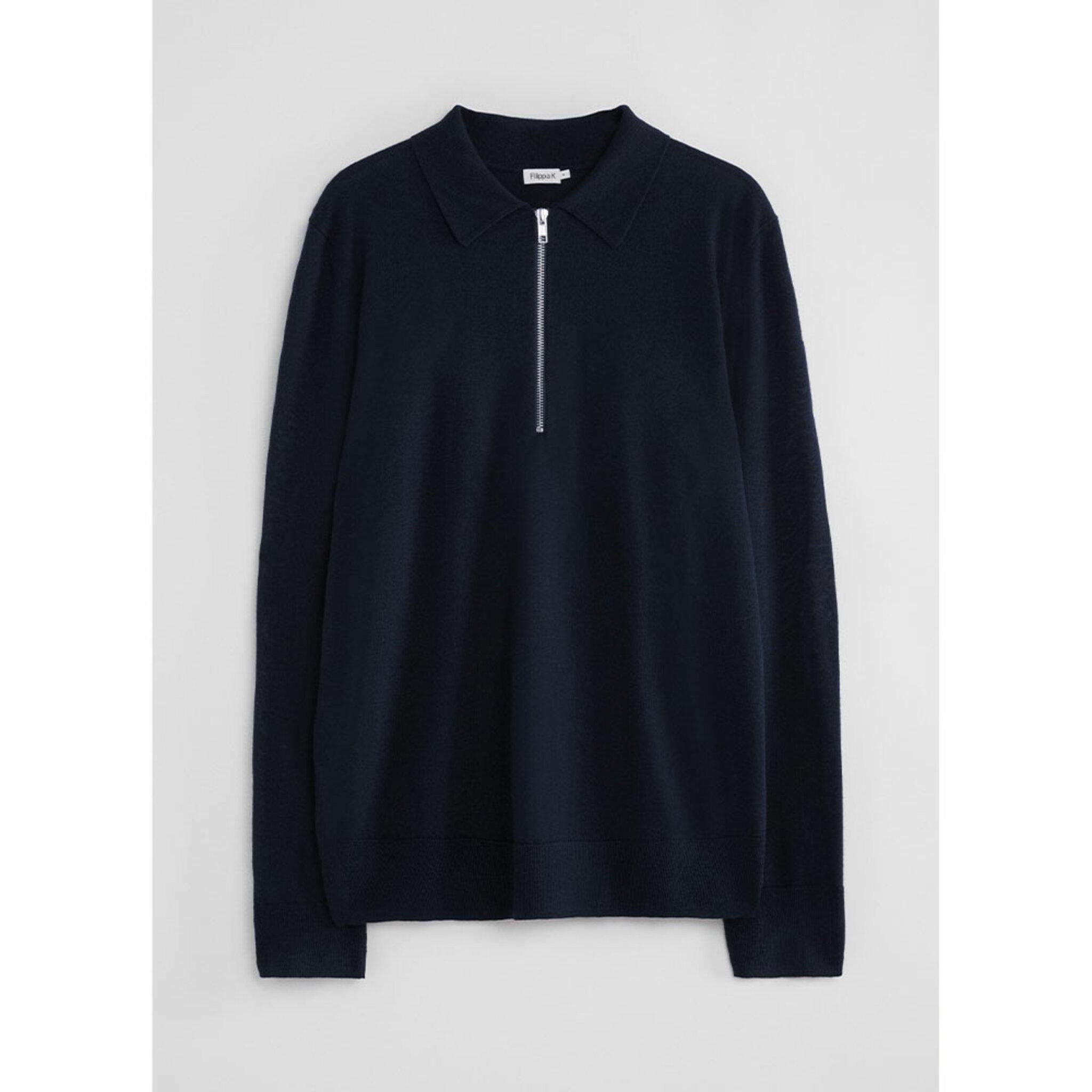 M. Shawn Zip Polo Shirt