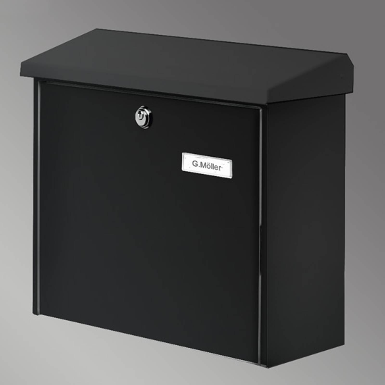 COMFORT postilaatikko, musta