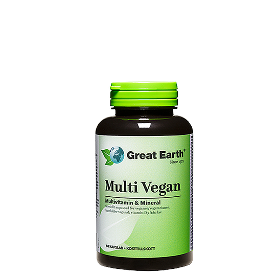 Multi Vegan, 60 kapslar