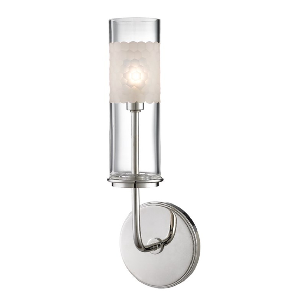 Hudson Valley I Wentworth Wall Sconce I Polished Nickel