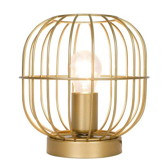 Bordlampe Zenith i burform, gull