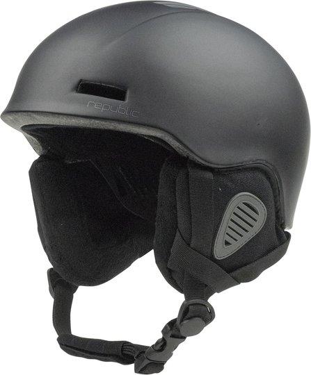 Republic R550 Skihjelm JR, Black 50-54