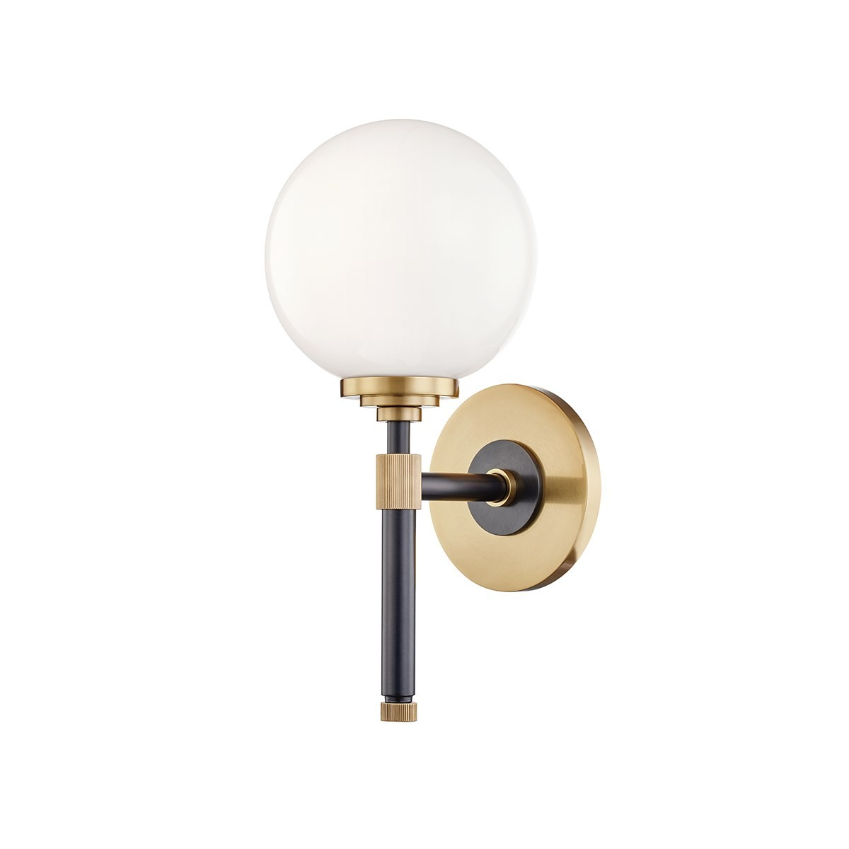 Hudson Valley | Bowery Bath and Vanity Wall Light | Aged Old Bronze