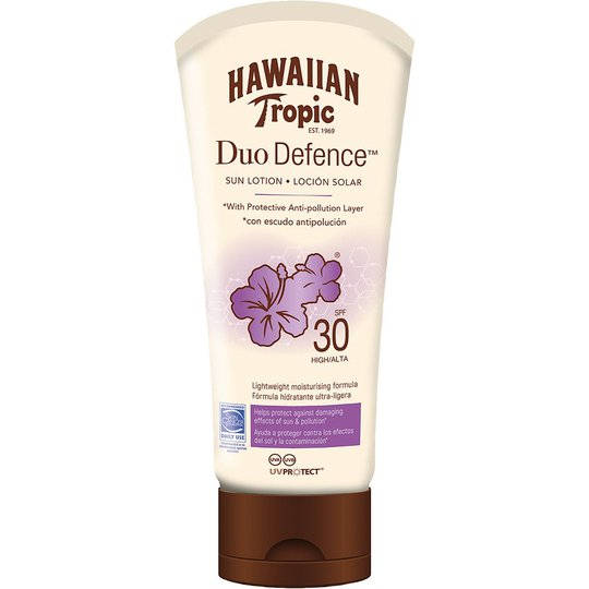 Hawaiian Tropic DuoDefence Sun Lotion SPF30, 180 ml Hawaiian Tropic Aurinkosuojat