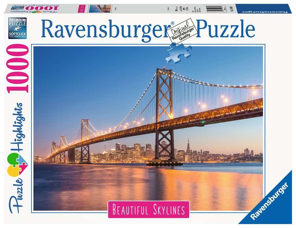 Ravensburger - Puzzle 1000 - Beautiful Skylines - Oakland Bay Bridge (10214083)