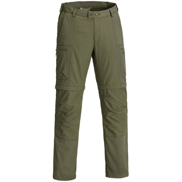 Pinewood Namibia 5027 Zip-off-bukse herre, grønn Str. C52