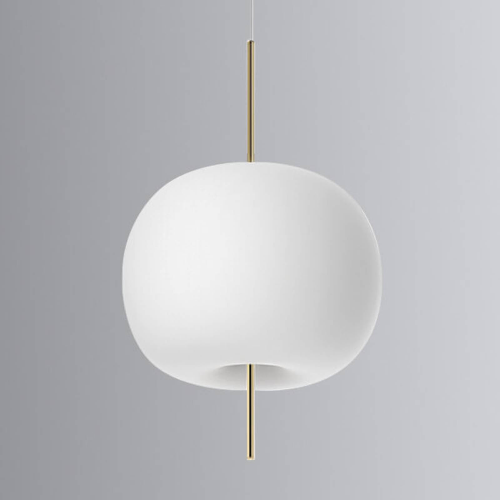 Kundalini Kushi - LED-riippuvalo messinki 33 cm