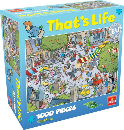 Goliath Games Puslespill That's Life - Village 1000 Brikker