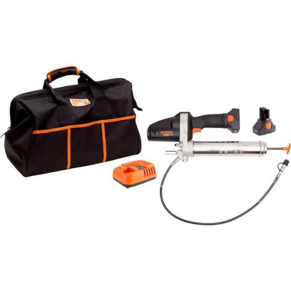 Bahco BCL32G1K1 Fettsprøyte med 2,0Ah-batterier og lader