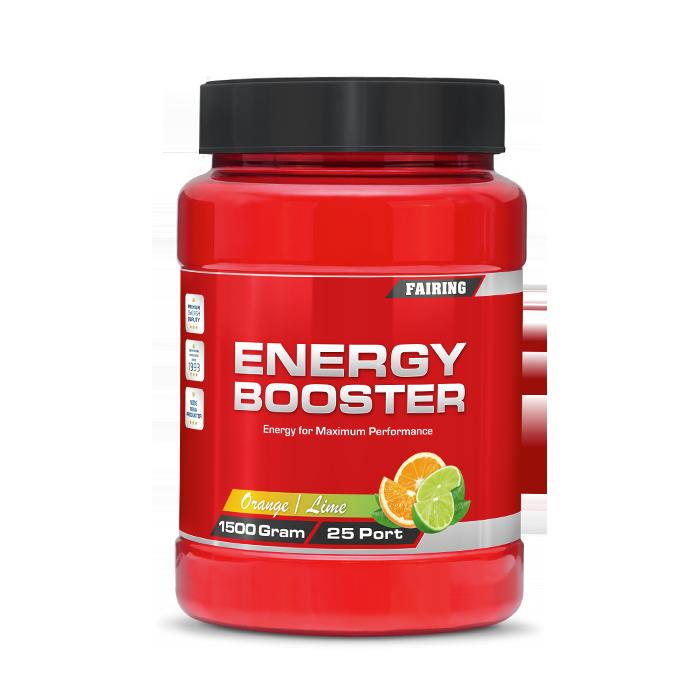Energy Booster New Formula, 1500 g, Orange/Lime
