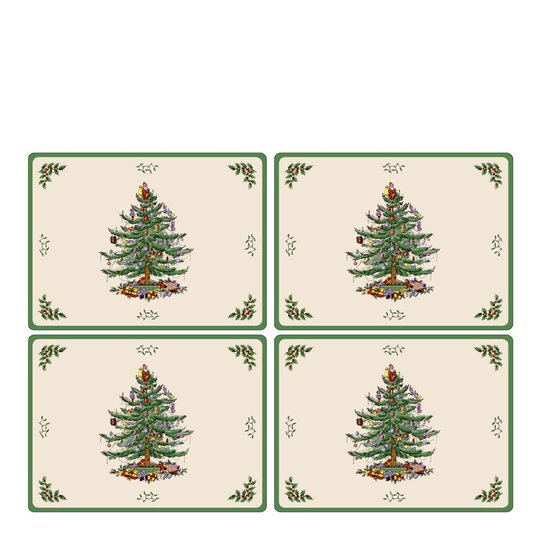 Pimpernel - Christmas Tree Tablett 30x40 cm 4-pack