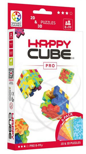 Happy Cube 3D-Puslespill, Happy Cube Pro