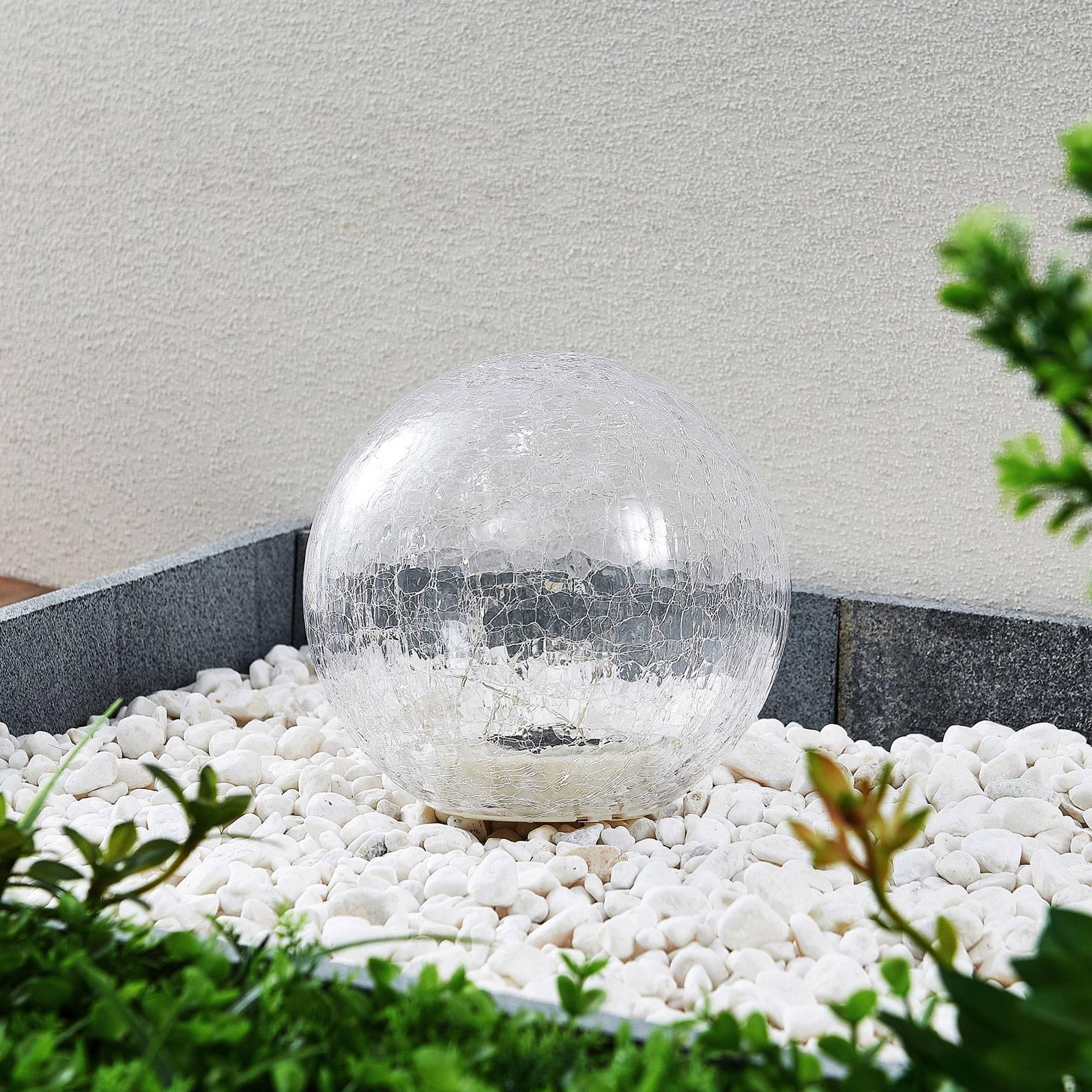 Lindby Feodoria -LED-aurinkomaapiikkivalo, Ø19,5cm