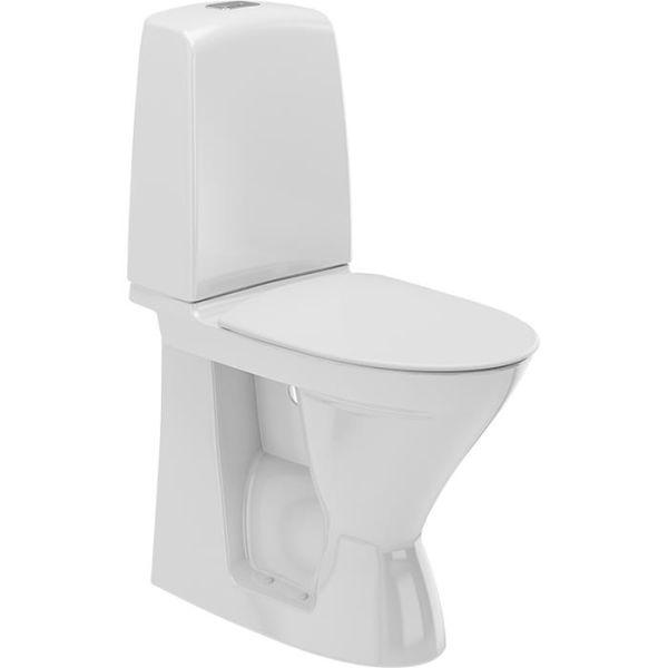 Ifö Spira 626108897 Toalettstol høy, med mykt sete, enkeltspyling