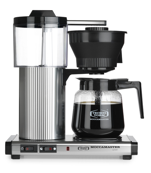 Moccamaster Cd Grand Ao 1,8 Kaffebryggare - Aluminium
