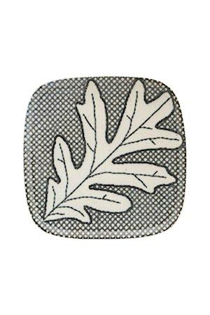 Tallerken Oak Grå/Blå
