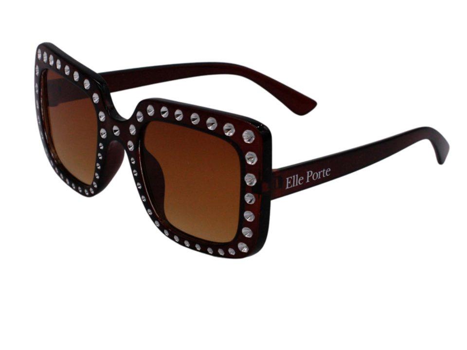 Elle Porte - Beverly Hills - Teen Sunglasses, Brown (39TEENSBBBROWN)