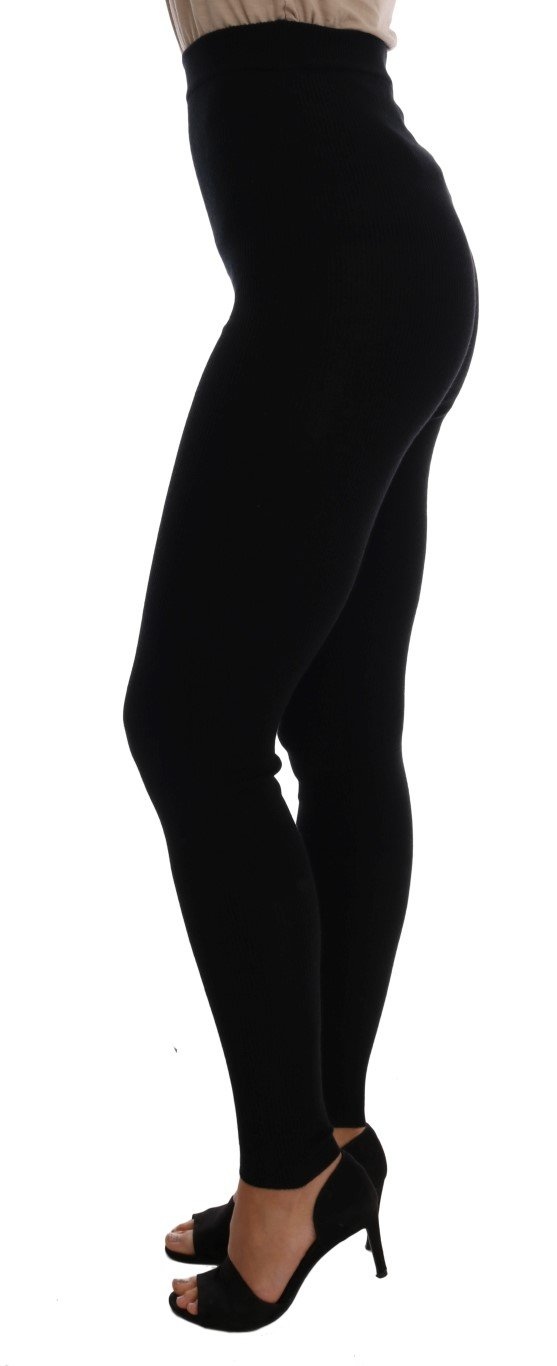 Dolce & Gabbana Women's Tights Black SCS201 - IT42|M