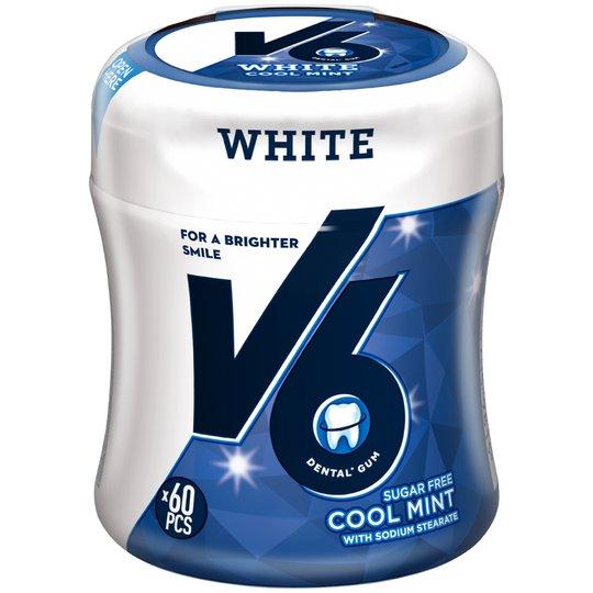 Tuggummi White Cool Mint - 0% rabatt