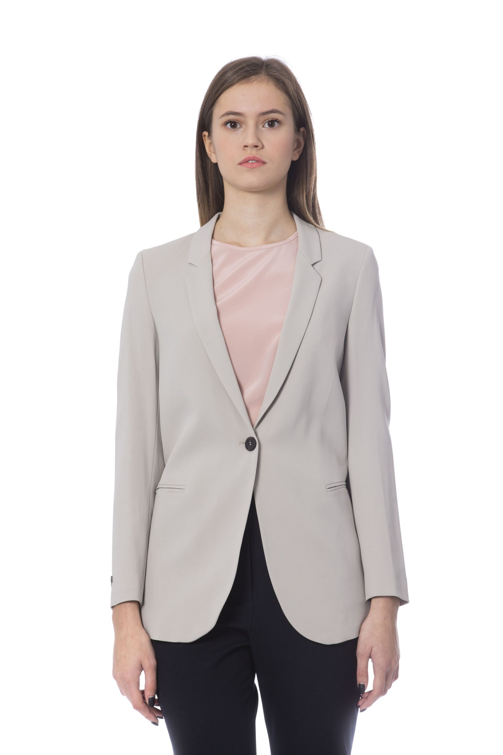 Peserico Women's Jackets Beige PE854314 - IT48 | XL