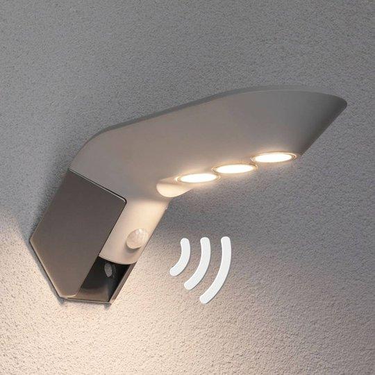 Paulmann LED-ulkoseinävalo Soley, valkoinen