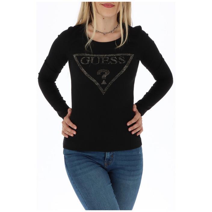 Guess Women's Sweater Black 301043 - black XS