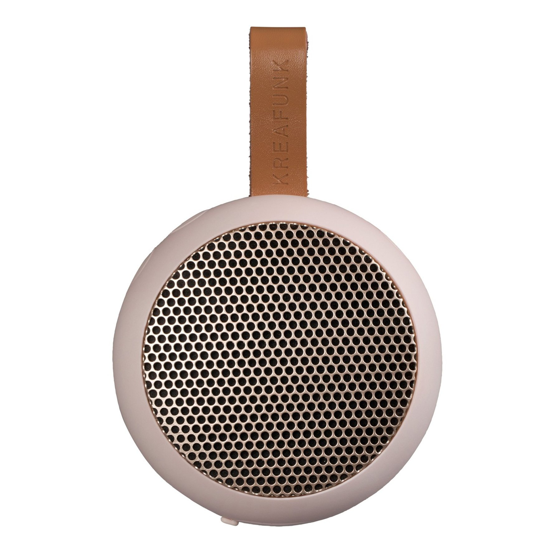 KreaFunk - aGO Bluetooth Speaker - Dusty Pink/Rose Gold Grill (Kfwt33)