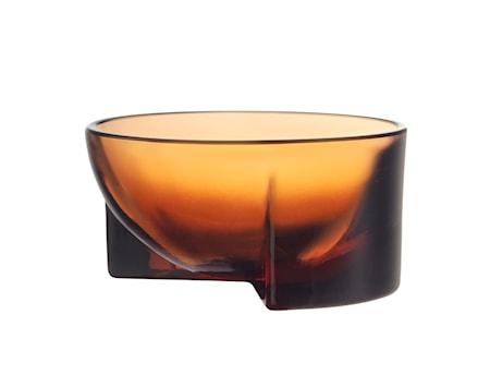 Kuru Glasskål Pomerans 13x6 cm