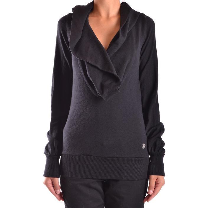 Frankie Morello Women's Sweater Black 167616 - black S