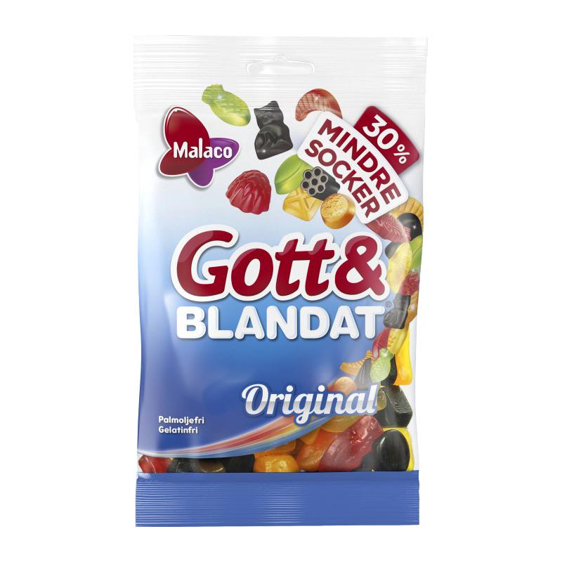Gott & Blandat Original Mindre Socker - 21% rabatt