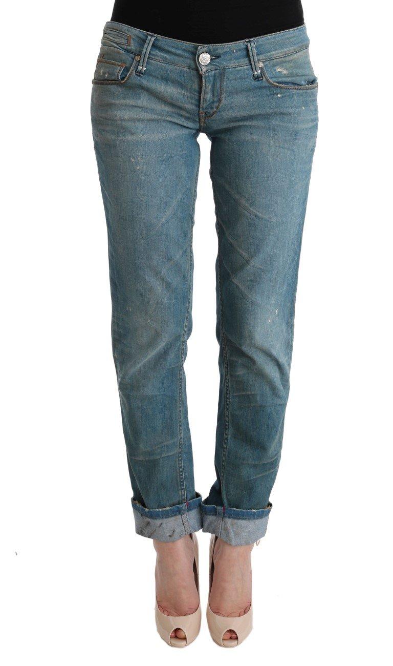 Acht Women's Cotton Bottoms Slim Fit Jeans Blue SIG30553 - W26