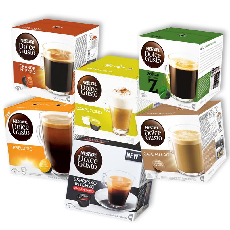 Storpack Kaffekapslar Dolce Gusto - 54% rabatt