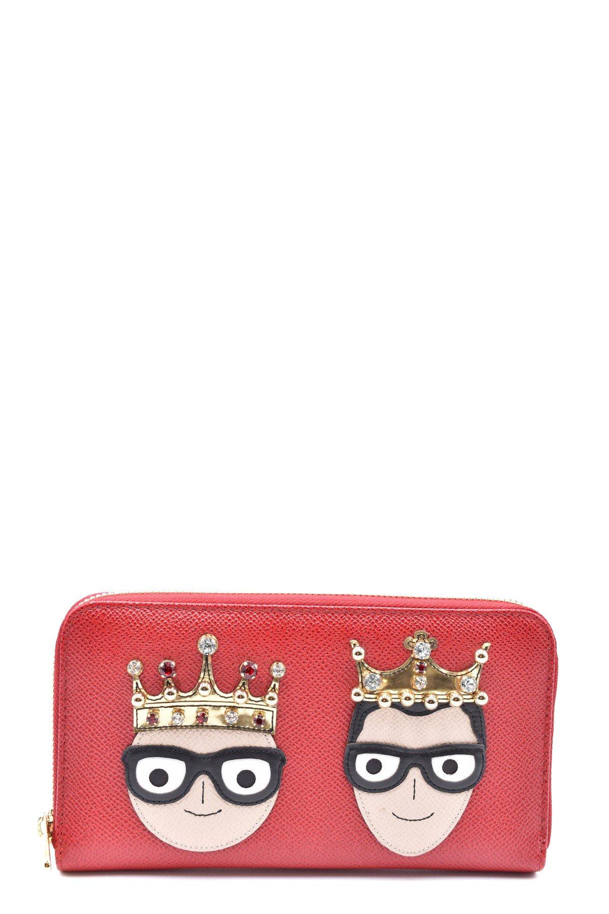 Dolce & Gabbana Women's Wallet Black 248445 - red UNICA