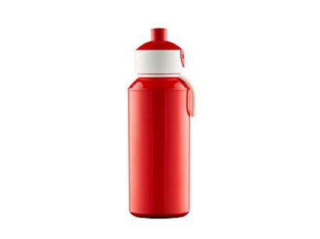 Drikkeflaske Pop-up 400ml rød