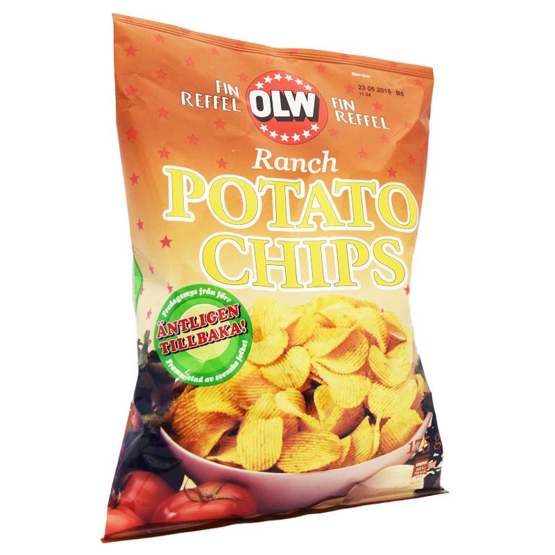 Chips Ranch 175g - 47% rabatt