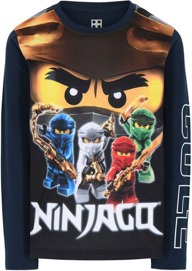 LEGO Collection T-shirt, Dark Navy, 104