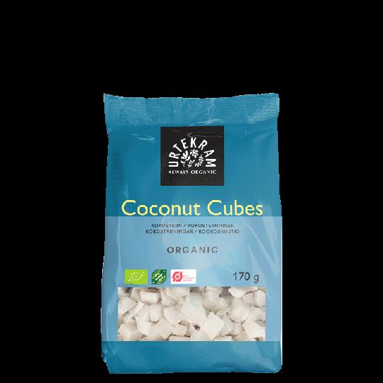 Kokostärningar EKO, 170 g