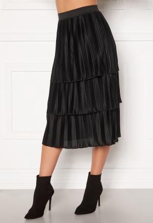 Happy Holly Naomi pleated skirt Black 32/34