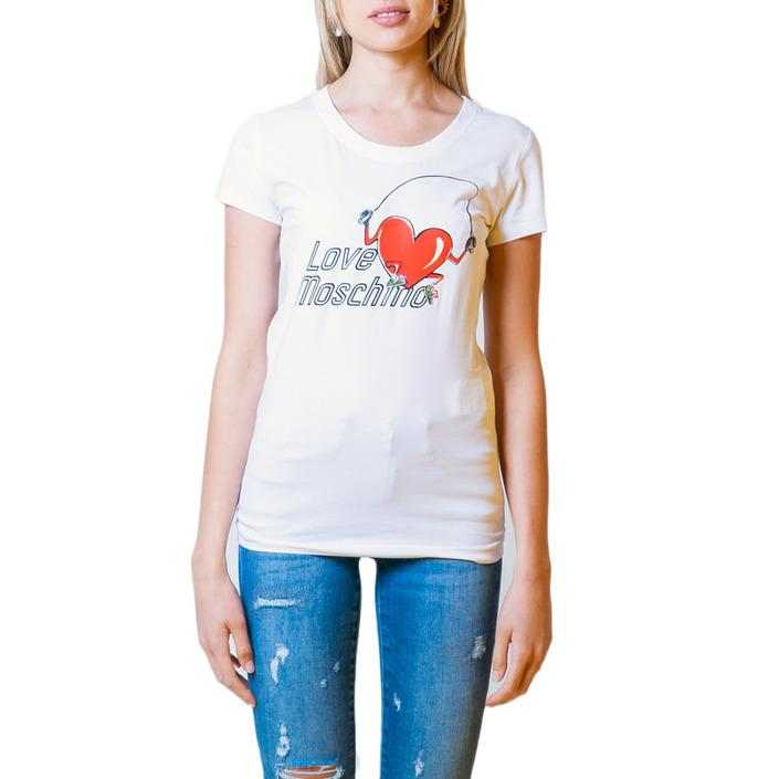 Love Moschino Women's T-Shirt Various Colours 175779 - white 44
