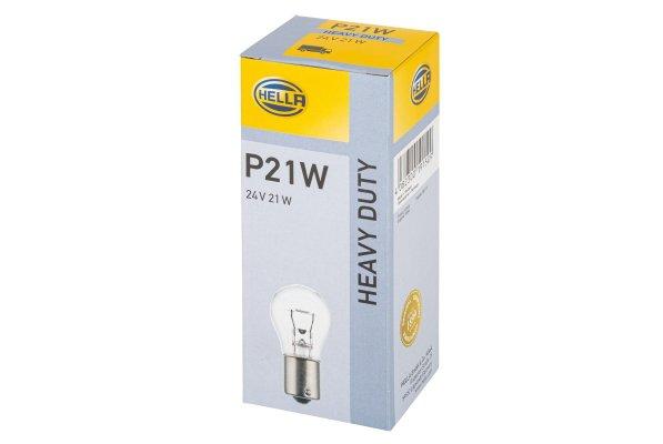 Glödlampa 24V P21W BA15s