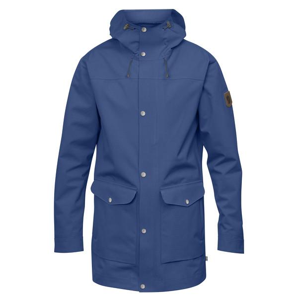 Fjällräven Greenland Eco-shell Jacket M - Deep Blue - Miehet - L