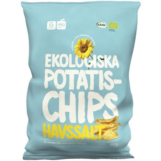 Eko Potatischips Havssalt 200g - 58% rabatt